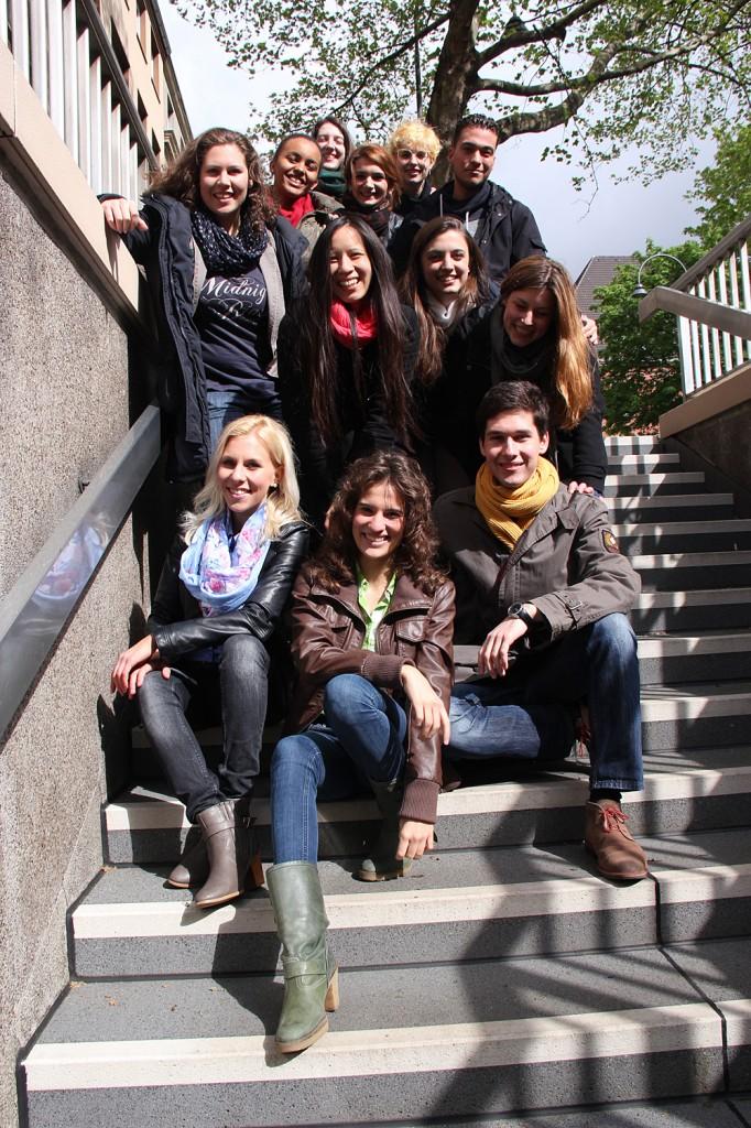 Team von WDR grenzenlos 2014